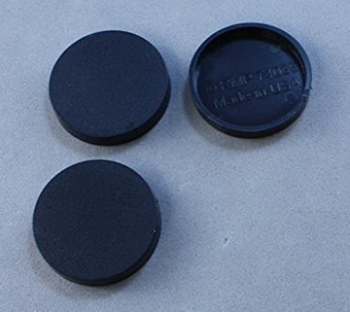 1in Round Plastic Miniature RPG Base (Pack of 40) Reaper Miniatures