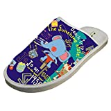 Cotton Purple Graffiti House Slippers Babouches Baboosh Chinela Slipper For Man Woman Kids Children