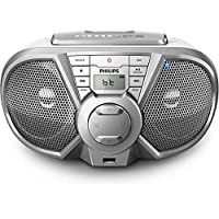 Radio Portatil CD/USB/FM/BLUETOOTH PX3125STX/78 Prata Philips