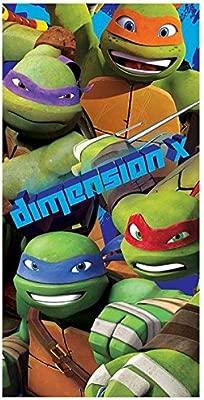 Toalla playa Tortugas Ninja Dimension X microfibra