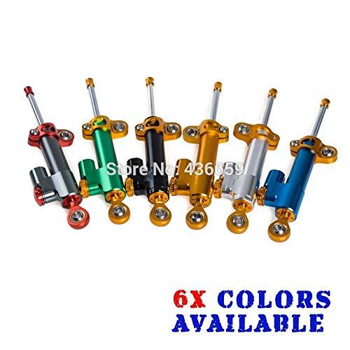 Iris-Shop - CNC Adjustable Steering Damper For Honda CBR250R 600RR 900RR 1000RR CB400 CB1300 Motorcycles Supplies