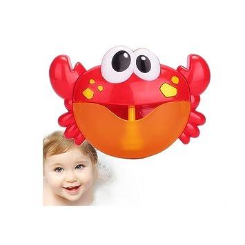 Electric Crab Bubble Blow Bubbles Magical Bubbles Maker Bath Baby Toy Fun Xmas