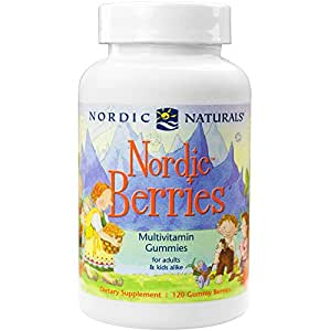 Nordic Naturals - Nordic Berries, Multivitamin Treats for Adults and Kids, 120 Count (FFP)