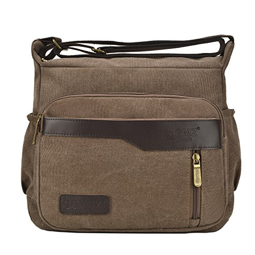 Bags Travel Body Cross Fabuxry Casual Bags Handbags Shoulder Purses Canvas Coffee qU1wI8wO