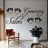 Wall Decals Dog Grooming Salon Decal Vinyl Sticker Pet Shop Home Decor Bedroom Interior Design Art Mural MN668