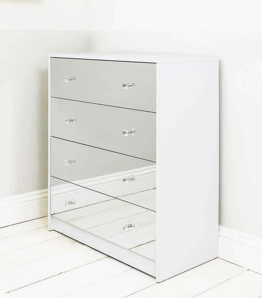 2 Drawer Mirrored Bedside Table Matt White Frame Bedroom Furniture Storage,United Airlines Baggage Policy Economy