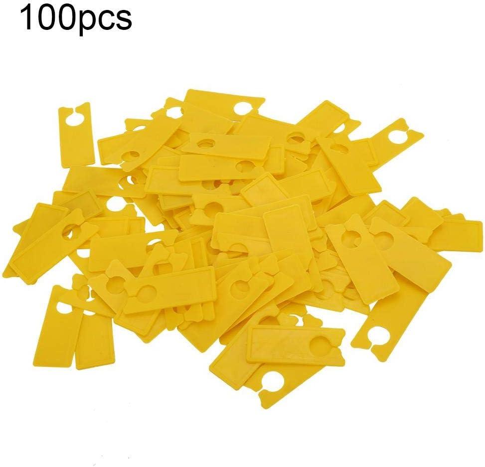 Etiqueta de la tarjeta del color de 100 PC, muestra al aire libre ...