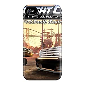 Iphone 4/4s Case Cover Skin : Premium High Quality Midnight Club La South Central Dlc Case