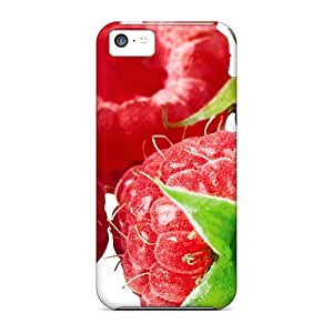 High Impact Dirt/shock Proof Case Cover For Iphone 5c (delicious Fruit Raspberry)