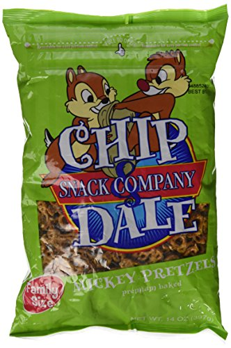 Price comparison product image Disney Park Chip and Dale Snack Company Mickey Mouse Pretzels 14 oz. Family Size