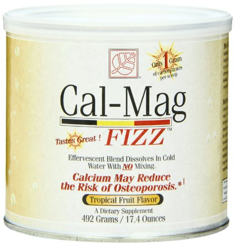 Baywood Cal Mag Fizz, Tropical Fruit, 17.4 Ounce