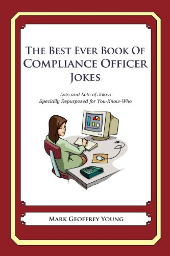 The Best Ever Book of Compliance Officer Jokes por Mark Young