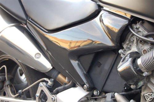 2004 2005 2006 New Honda Carbon Fiber Side Panel Panels 599 Hornet 600 (Honda Hornet)