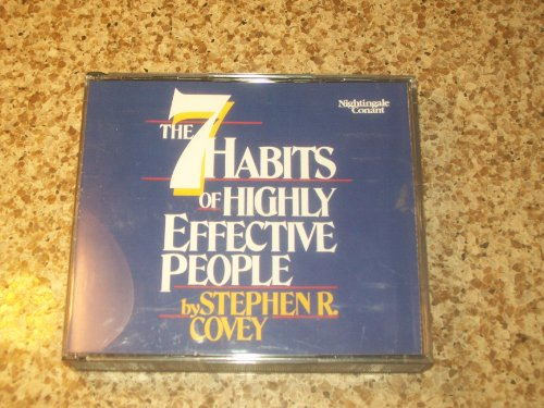 Habits Highly Effective People Stephen
