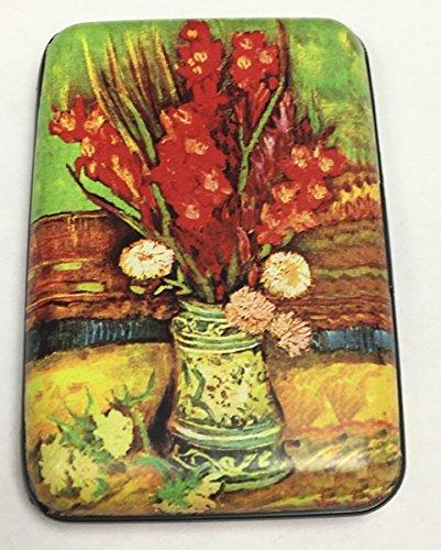 Fig Design Group Gladiola Flower Vase RFID Secure Theft Protection Credit Card Armored Wallet New