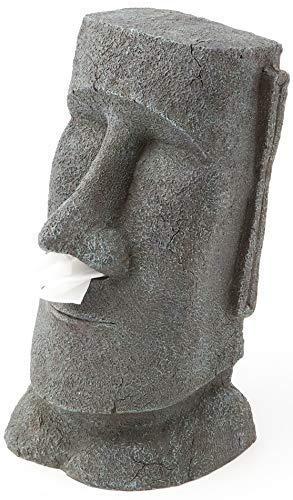 (Rotary Hero Moai Tissue box Holder)