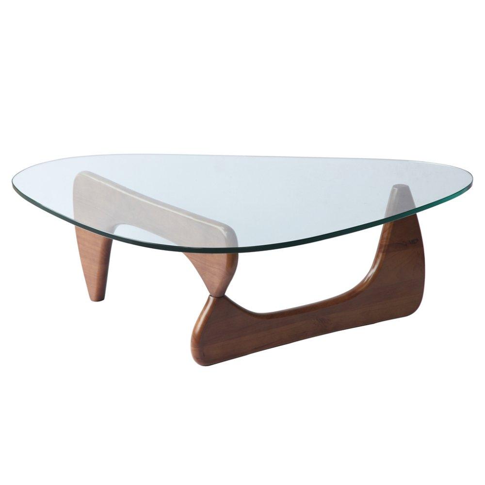 Amazon: Fine Mod Tribeca Coffee Table, Mid Walnut: Kitchen & Dining
