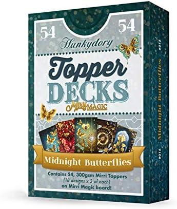 Hunkydory Midnight Butterflies Topper Deck