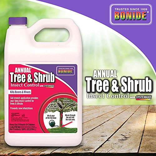 Bonide (BND611) - Annual Tree and Shrub Insect Control, Insecticide/Pesticide Concentrate (1 gal.) (Bayer Advanced Fruit Citrus Vegetable Insect Control Reviews)