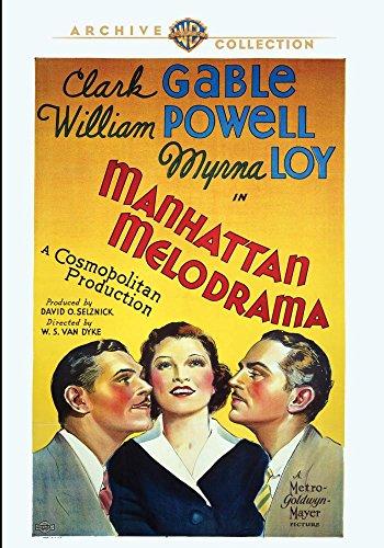 Manhattan Melodrama (1934) - Melodrama Manhattan