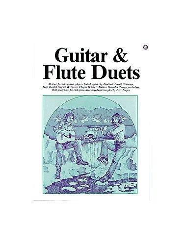 Guitar And Flute Duets. Partitions pour Flûte Traversière, Guitare Music Sales