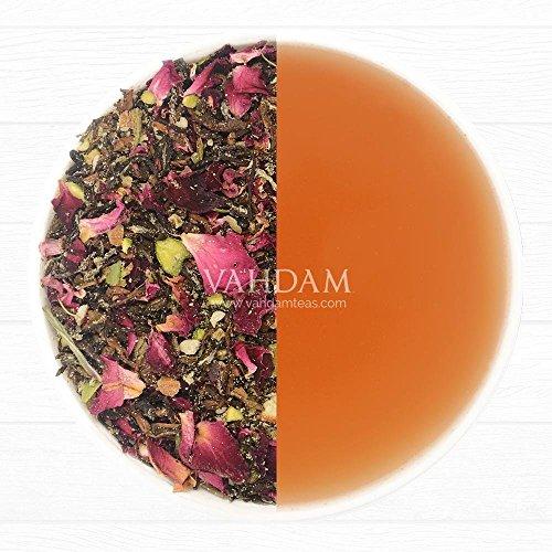 Review Blooming Rose Tea Leaves