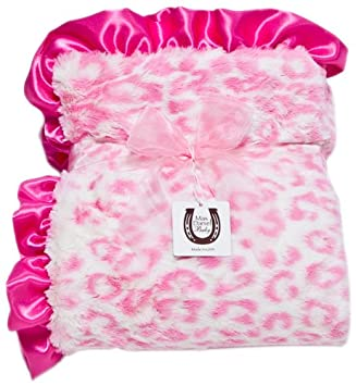 Black-White Jaguar by Max Daniel Designs BWJAGT Accessories Bibs Max Daniel Baby Throw Blanket