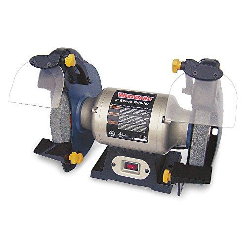Westward 1KEN1 Bench Grinder, 8 In, 3450 RPM, 1/2 HP