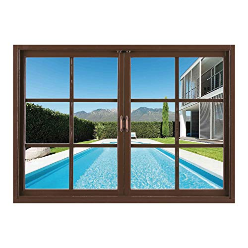 SCOCICI Removable 3D Windows Frame Wall Mural Stickers/House for sale  Delivered anywhere in Canada