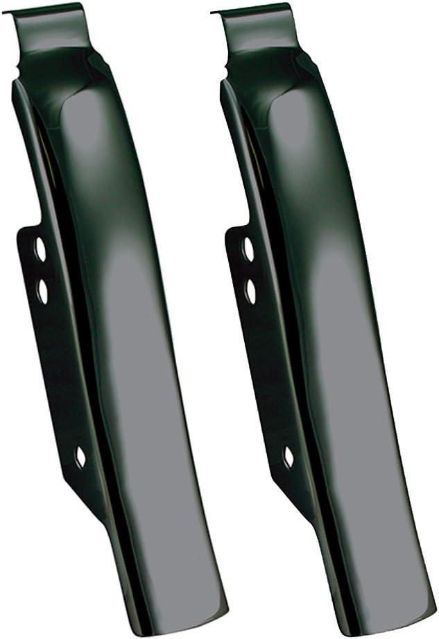 Chrome Fender Hard Saddlebag Filler Panels 1993-2008 Harley Davidson Touring