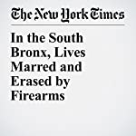 In the South Bronx, Lives Marred and Erased by Firearms | James C. McKinley Jr.,Ashley Southall,Al Baker