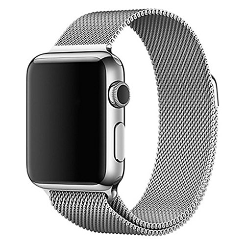 Apple watch band magnet closure mm milanese loop