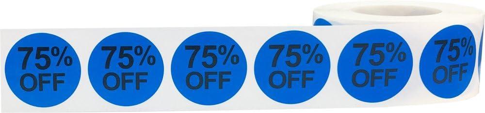 Rosa 20/% Rabatt Verkaufs Aufkleber 25 mm 1 Zoll Einzelhandel Etiketten 500 Packung