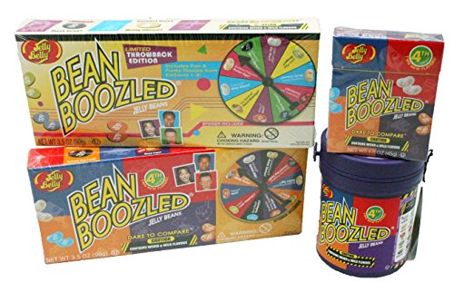 Jelly Belly Bean Boozled 4 Pc Practical Joke Kids Gift Set -