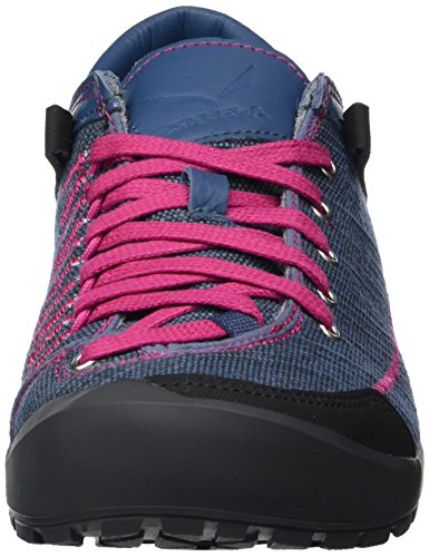 Fuchsia Donna Blu Scarpe SALEWA Road Denim Stringate Alpine Washed SqPCW8w
