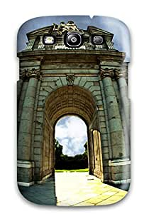 Tpu Case Cover Compatible For Galaxy S3/ Hot Case/ Puerta De Alcal??