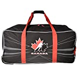 "Hockey Canada 34"" Wheeled Hockey Bag Red"