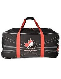 """Hockey Canada 34"""" Wheeled Hockey Bag Red"""