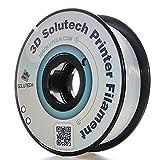 3D Solutech Natural Clear 1.75mm PETG 3D Printer Filament 2.2 LBS (1.0KG)