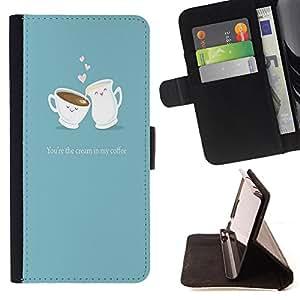 Jordan Colourful Shop - FOR Apple Iphone 6 PLUS 5.5 - Sweet Love Forever - Leather Case Absorci¨®n cubierta de la caja de alto impacto