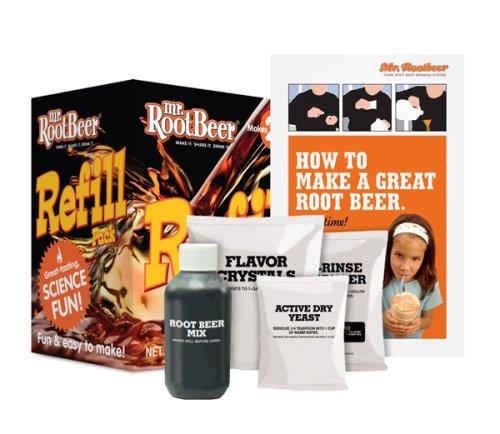 Brewing Root Beer (Mr. Root Beer Refill Pack)