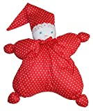 Waldorf Doll - Handmade First Soft Doll For Baby - Cherry