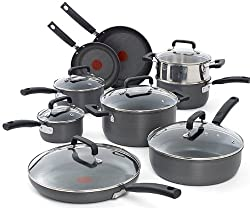 T-fal C770SF Signature Hard Anodized Scratch Resistant PFOA Cookware Set
