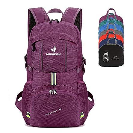 NEEKFOX Packable Lightweight Hiking Daypack 35L Travel...