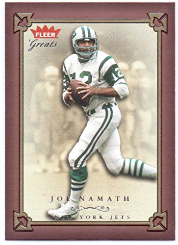 Joe Namath 2004 Fleer Greats of the Game #5 - New York Jets