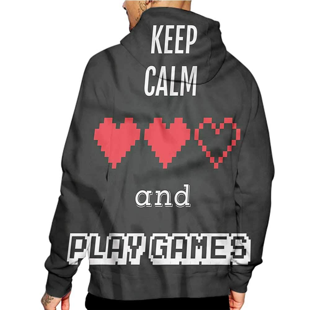 Unisex 3D Novelty Hoodies Funny,Doodle Style House Cats,Sweatshirts for Girls