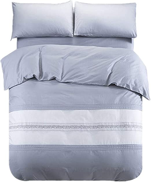 HppHome textile Nórdico 60 algodón de Cuatro Piezas Ropa de Cama ...