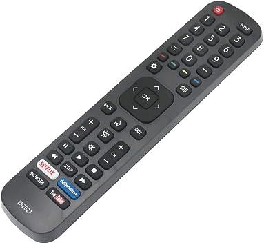 EARTHMA - Mando a distancia universal para televisor Hisense 4K LCD/LED/ULED: Amazon.es: Electrónica