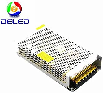DELED Power Supply Adapter 15 AMP 180 Watt 110v-220v Ac to 12v Dc Switching Power Supply Converter Driver for LED Strip Light Protections: Short Circuit/over Load/over VoltageHigh Efficiency to 90%, Long Life and High ReliabilityWithstanding High Voltage and Operating Temperature