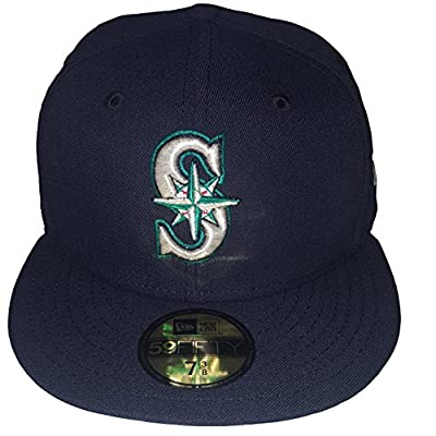 New Era 59FIFTY Seattle Mariners MLB 2017 Authentic Collection On Field Game Fitted Cap
